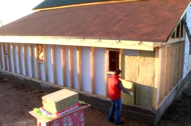 Утепление деревянных домов снаружи пеноплексом своими руками 29