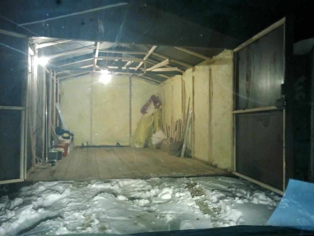 Как утеплить металлический гаража своими руками