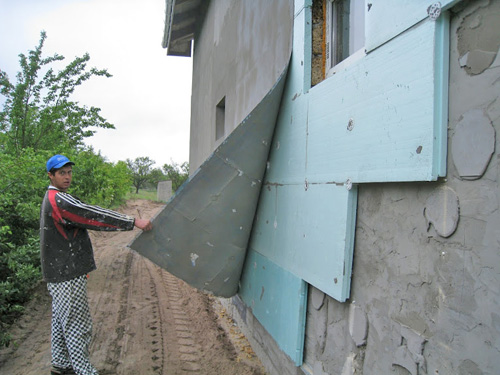 Расценки на утепление фасада и штукатурка